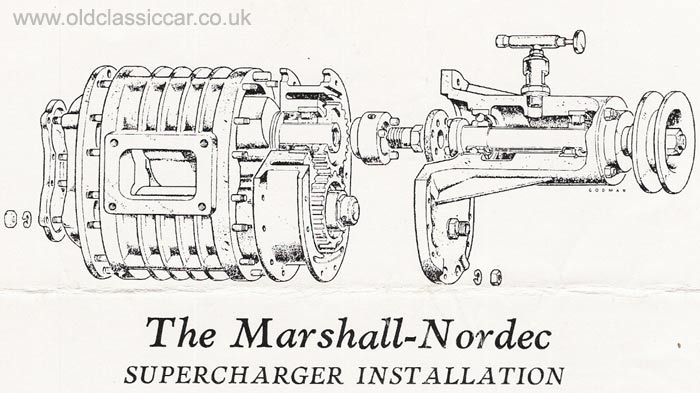 Rootes type superchargers from Nordec-Marshall