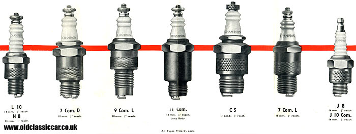 Champion plugs 'for all commercial vehicles'.