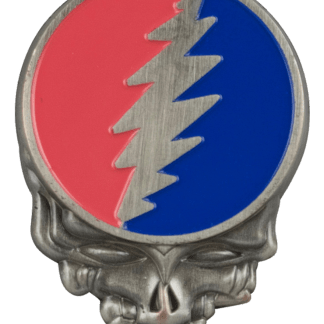 Grateful Dead Steal Your Face Enamel Hat Pin
