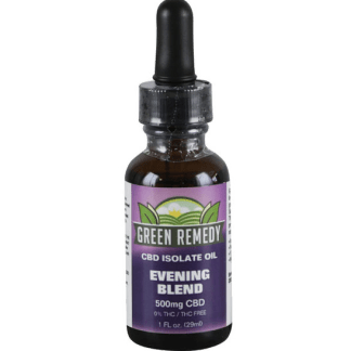 Green Remedy Hemp Extract 500 mg - Evening Blend