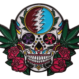 Grateful Dead Sugar Skull Hat Pin