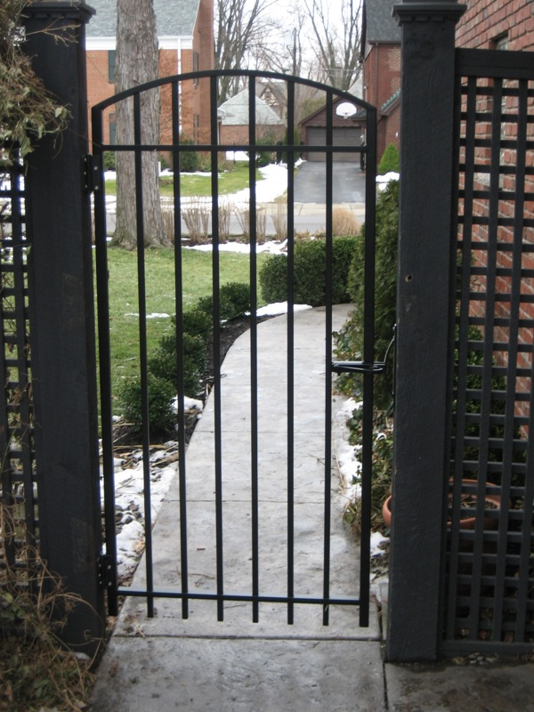 Walk Gates  Old Dutchmans Wrought Iron Inc