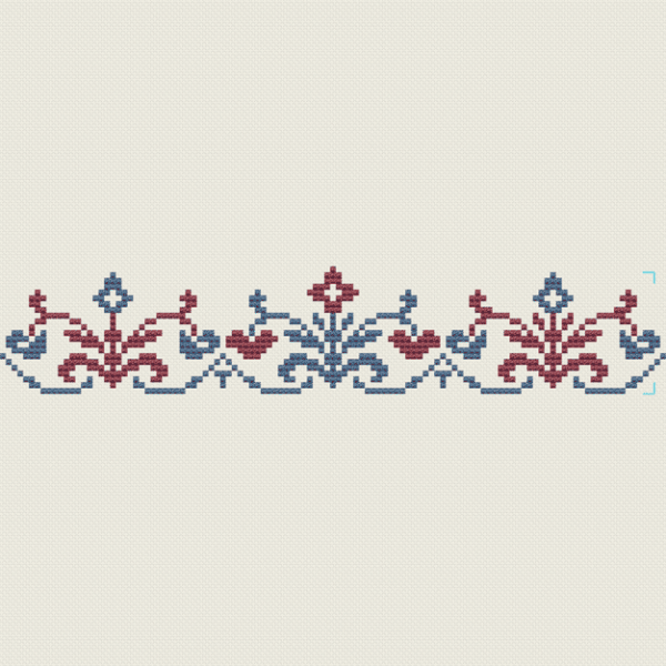 Florale Bordre  Olde Worlde Embroidery