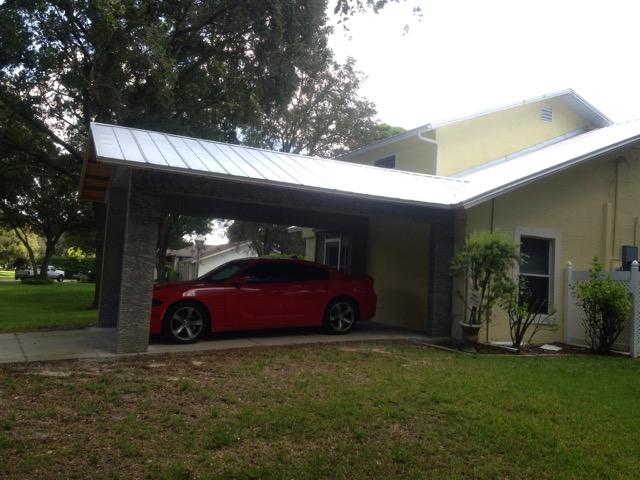 Buckingham Carport Addition  Olde Florida Contracting Inc