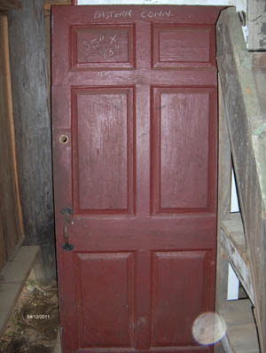 18th Century Exterior Door At Olde New England Salvage Co