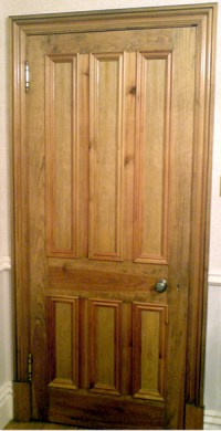 Victorian Internal Door with six panel design  Old ...