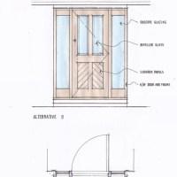 How our bespoke door design service works  Old English Doors