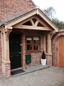 Bespoke Wooden Porches & Pediments English Doors