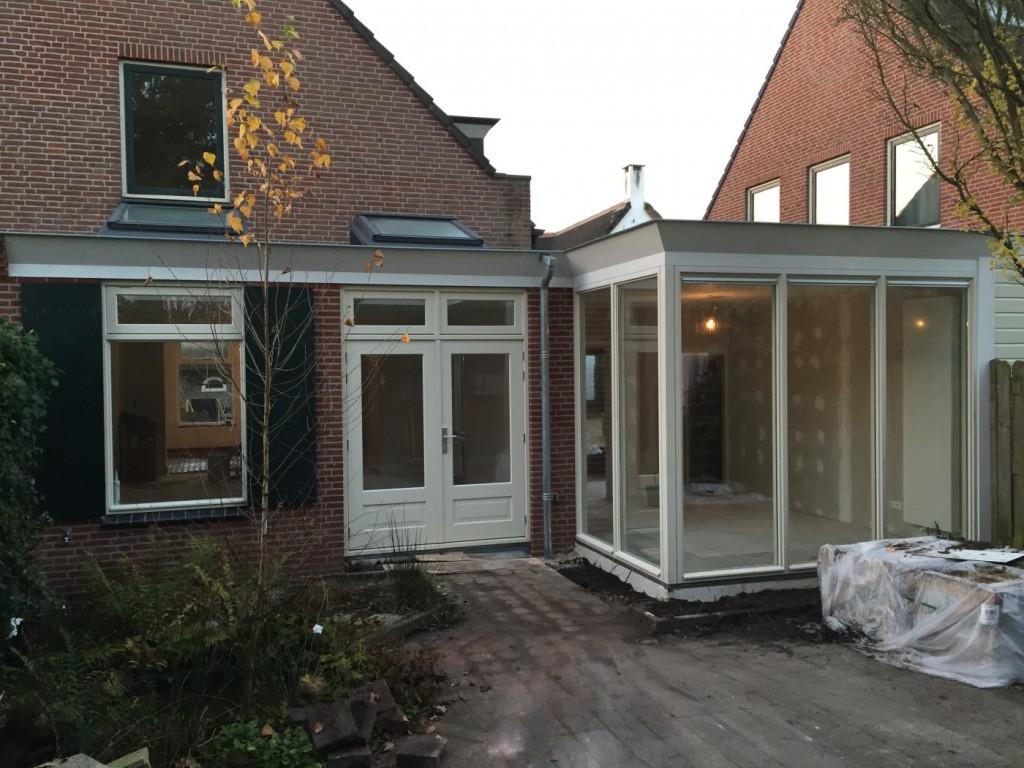 Verbouwing woning Leusden  Bouwbedrijf Oldenhof Hesselink