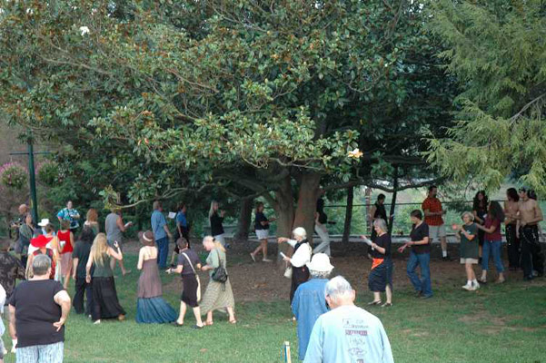 Wiccan Environmental Activists Stop Parkside Development