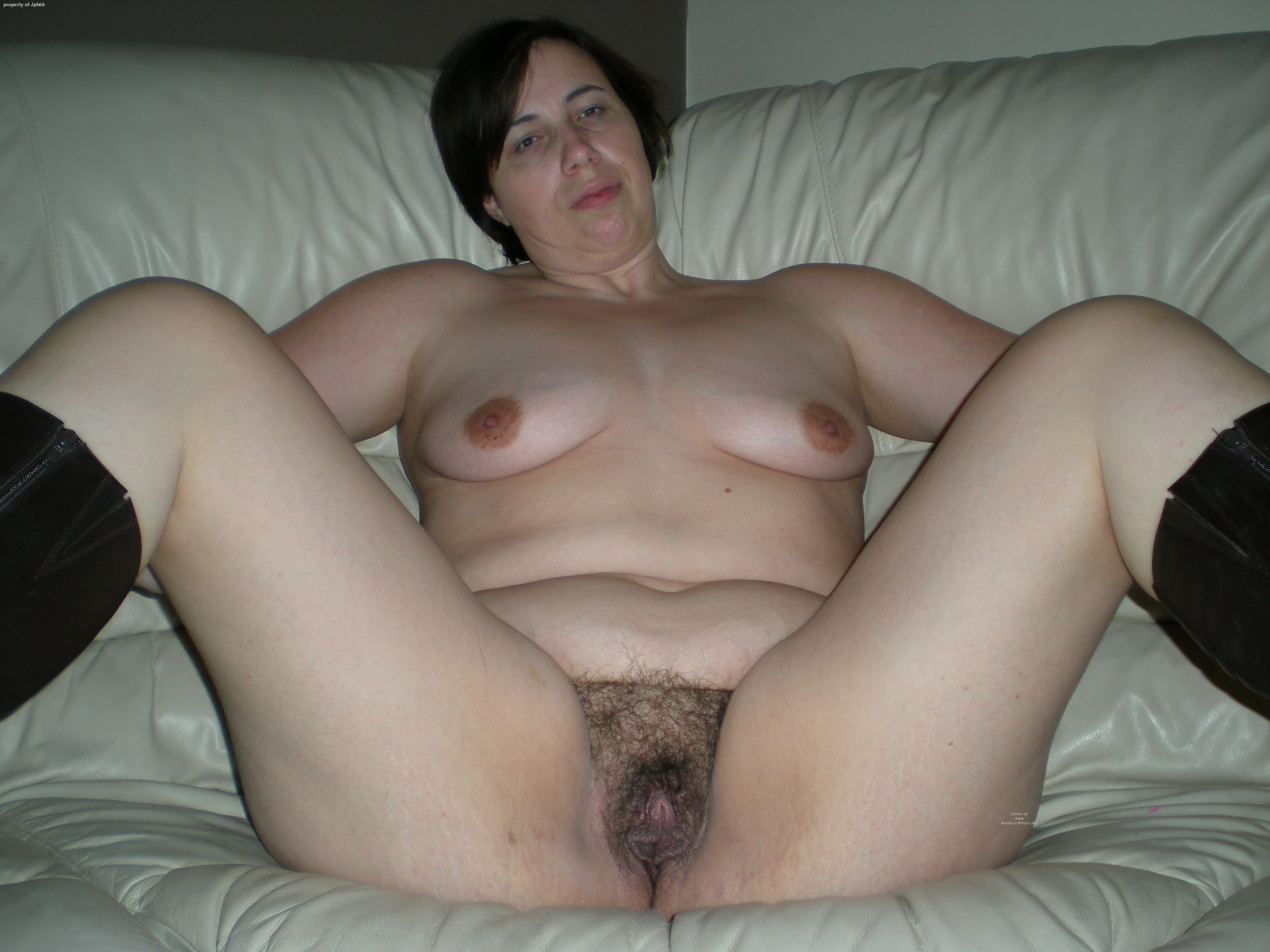 Mature Hairy Skinny