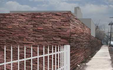 Wall before Intervention