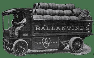 Ballentine's Brewery Truck