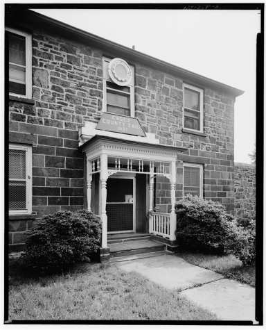 The Warden's House around 1967