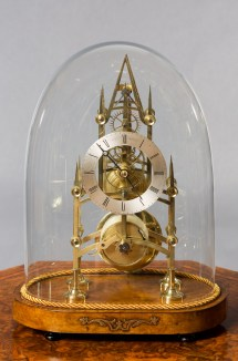 Victorian Skeleton Clock. Dell Bristol - Olde Time