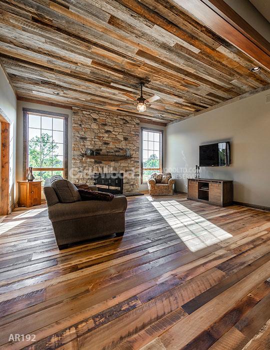 Reclaimed Historic Plank Flooring  Rustic Wood Floor