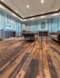 Distressed Oak Reclaimed Flooring | Wide Plank Oak Floor ...