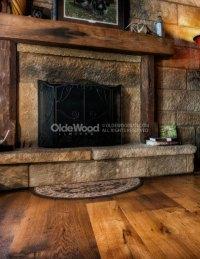 Reclaimed Fireplace Mantel | Rustic Fireplace Mantels ...