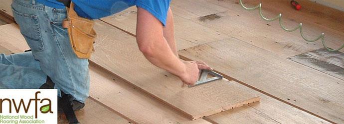 hardwood floor over an existing floor