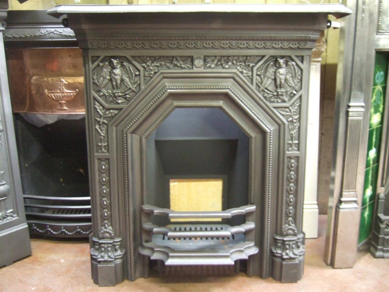 Arts Amp Crafts Victorian Fireplace