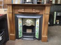 Victorian Oak Fireplace Surround - Cambridge - F125WS ...