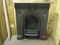 Victorian Cast Iron Fireplace - Stockport - 198MC - Old ...