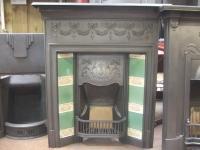 224TC - Original Edwardian Tiled Combination Fireplace ...