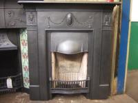 Cast Iron Victorian Fireplace - 077LC - Old Fireplaces