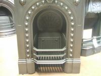 Victorian Cast Iron Bedroom Fireplace - Old Fireplaces