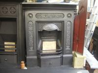 Victorian Cast Iron Fireplace - 145MC - Old Fireplaces