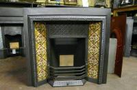 Victorian Tiled Fireplace Insert - 118TI - Old Fireplaces