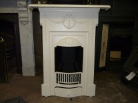Original Victorian / Edwardian Bedroom Fireplace