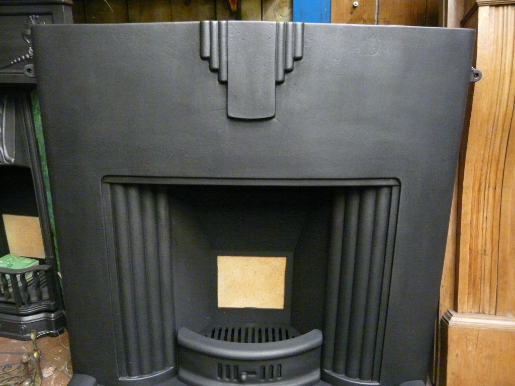 104LC  Art Deco Fireplace  Old Fireplaces