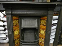 Late Victorian Tiled Combination Fireplace - 267TC-942 ...