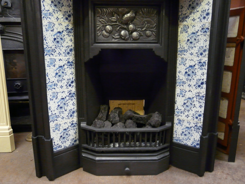Victorian Arts Amp Crafts Tiled Fireplace