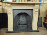 200SS-1655 - Victorian Stone Fireplace - Old Fireplaces