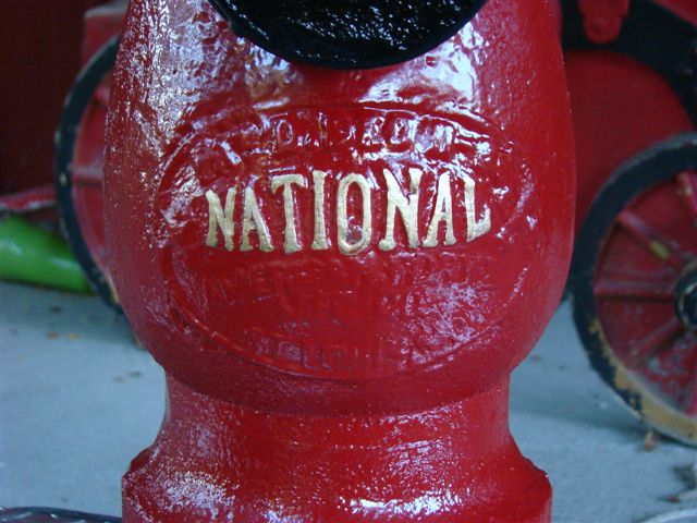 Antique National Fire Hydrant may west style Patent