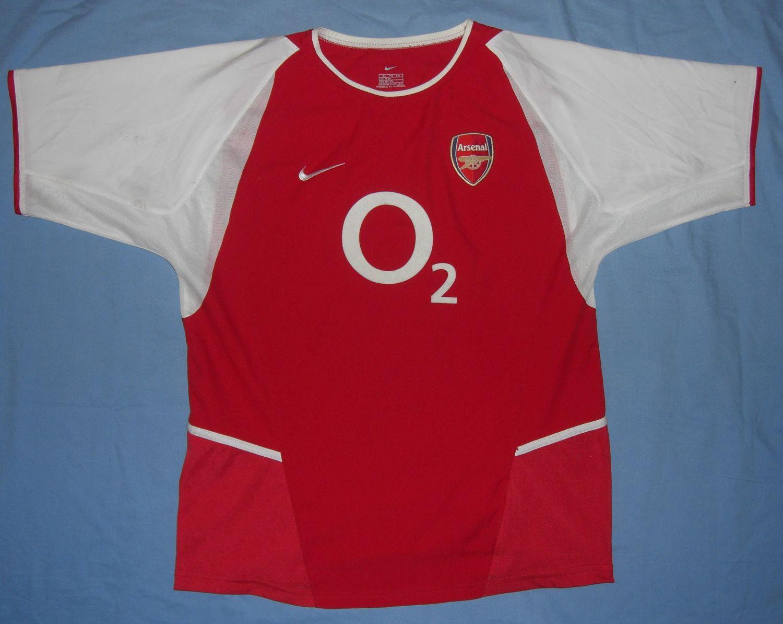 arsenal home fussball trikots 2002