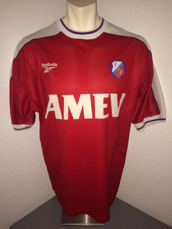 fc utrecht home football shirt 1998