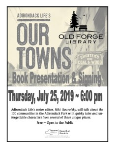 "Adirondack Life's ""Our Towns"" Book Presentation with Niki Kourofsky"