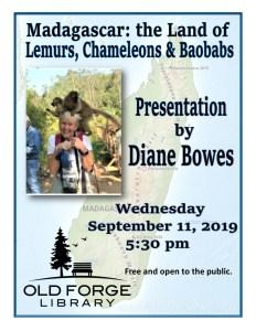 Madagascar: The Land of Lemurs, Chameleons & Baobabs Presentation by Diane Bowes