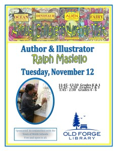Annual Children's Author Visit ~ Ralph Masiello