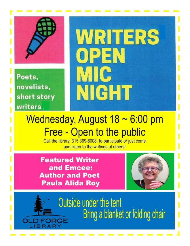 Open Mic Night for Writers