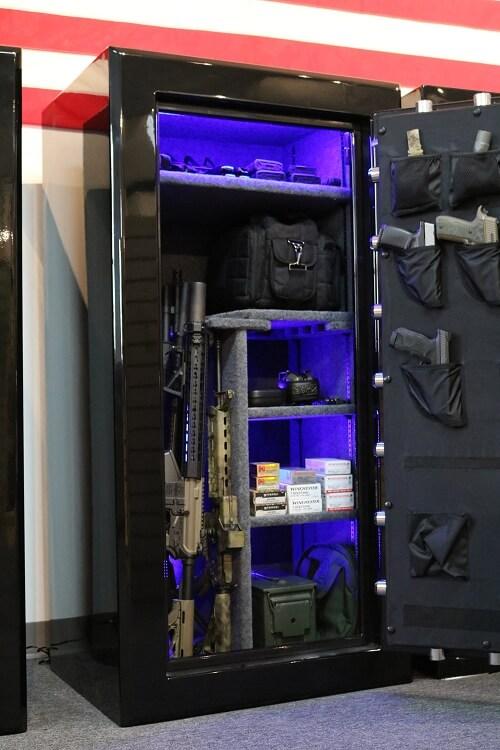 Large 24 Gun Safe by Old Glory Gun Safe Company