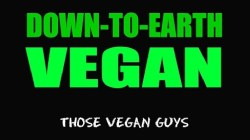 The guys, who come from Oldham, are one half of the Vegan Queens.