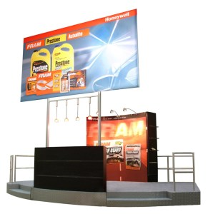 custom display stand