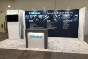 Gibbs 20' display