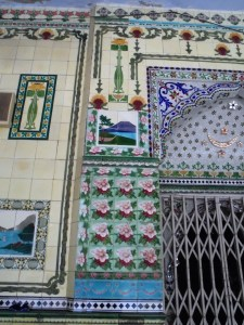 interior tiling in Star Mosque, Old Dhaka