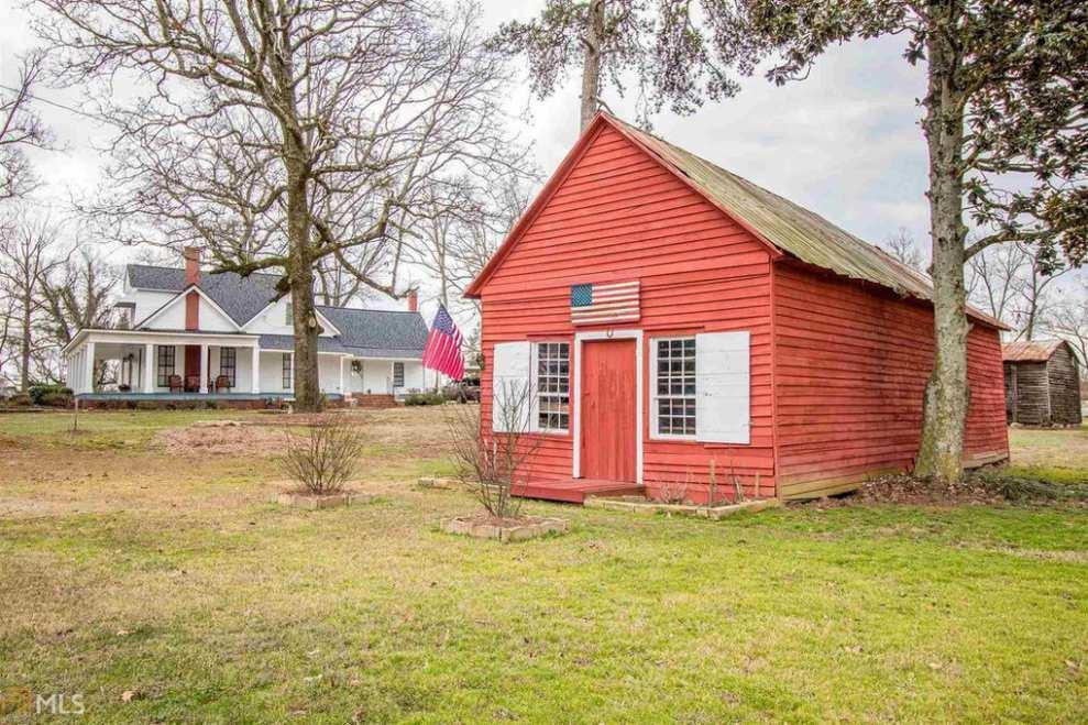 Georgia 1900 Victorian Farmhouse