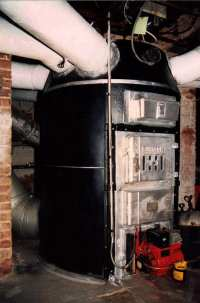 Heating with an Old Octopus Furnace
